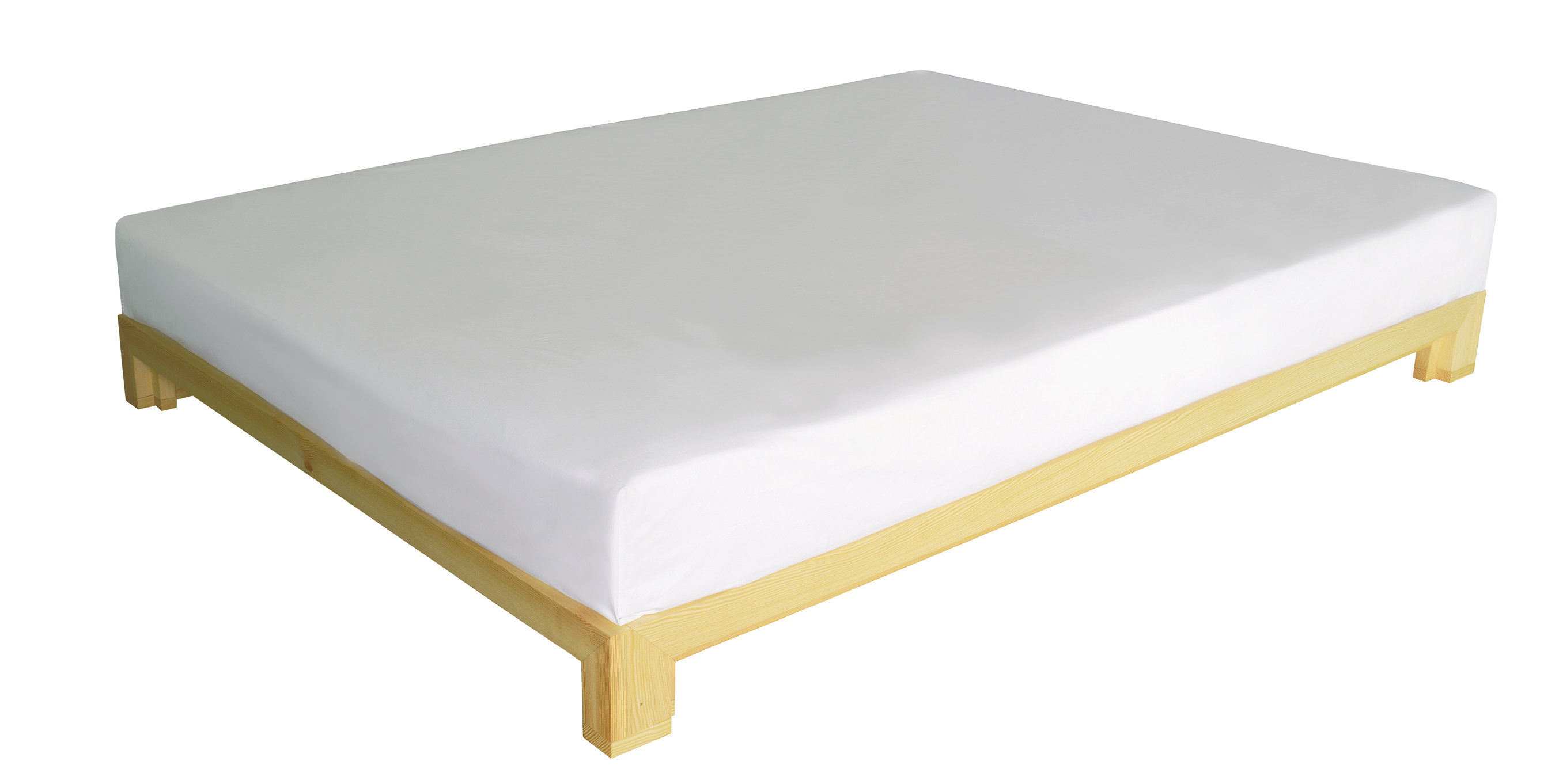 alvari bett aus kiefernholz massiv. Black Bedroom Furniture Sets. Home Design Ideas